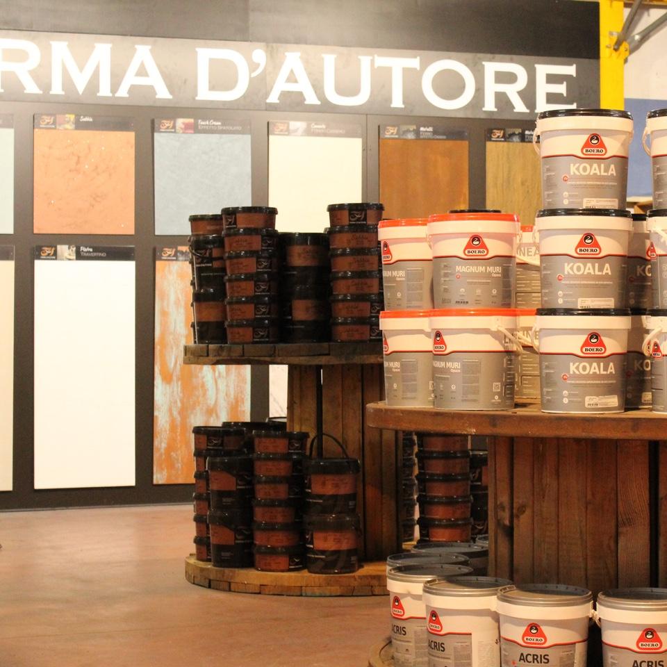 Vendita e realizzazione specializzata con sistema tintometrico di pitture nel Lazio